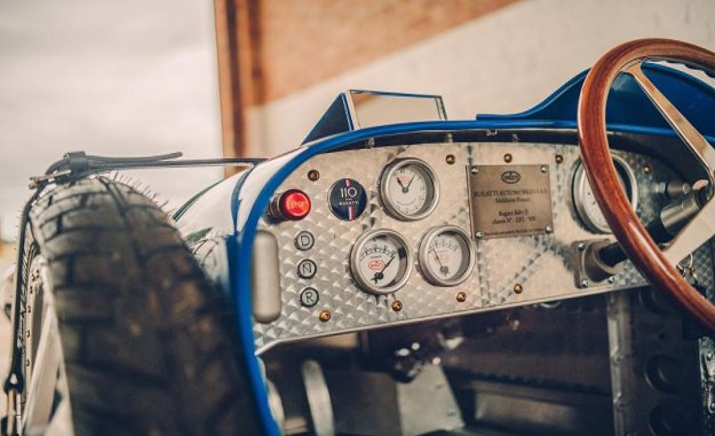 Bugatti Bébé II: children car, electric,