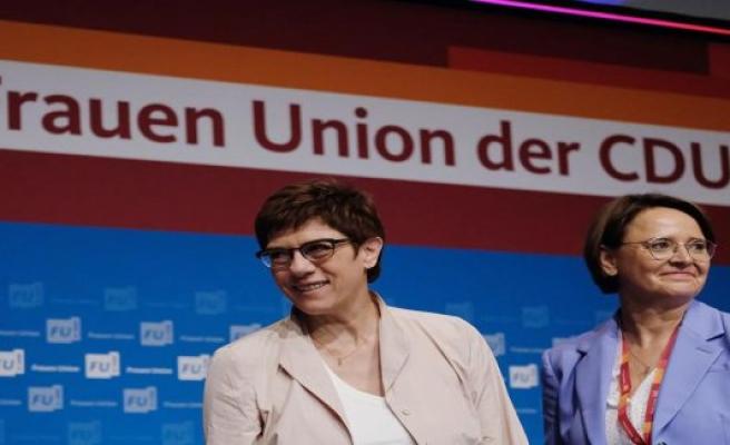 CDU-woman ratio: not to heave border moronic women to Post