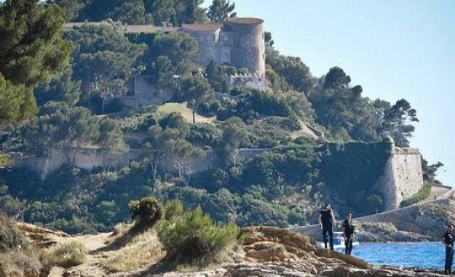 Emmanuel Macron has placed his suitcases on the fort de Brégançon - The Point