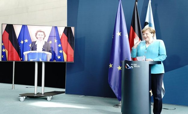 Reporter speaks to an insult by Trump: Merkel softens in response
