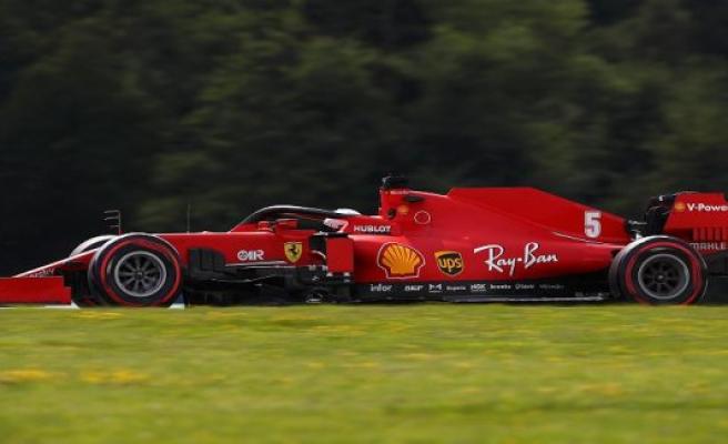Scuderia-circuit light speed, but Vettel feels in the Ferrari much better