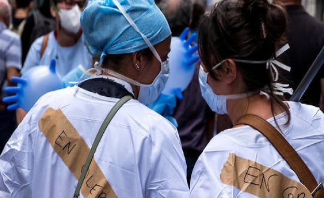 Ségur health : trade-union agreement of the majority found - The Point