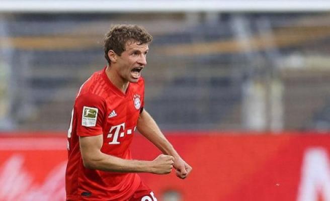 Speaker Thomas Muller: Bayern talked Dortmund platt