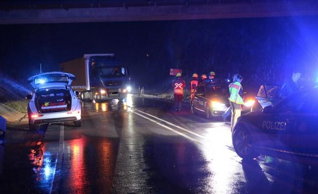 State police inspection Saalfeld: bus overlooked, two people slightly injured