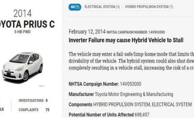 Toyota flop, Tesla top? New callback-statistics show record levels