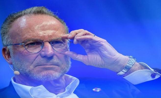 Ultra-Zoff, fair-play, TV-money: Bayern-Boss Rummenigge already lives in its own world