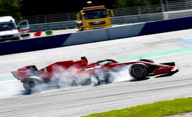 Vettel disassembled, the Ferrari fiasco-race: I'm glad it was just a screwdriver