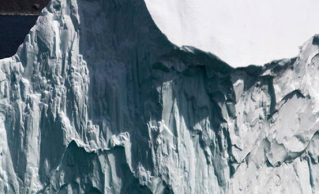 Arctic : the platform last glacial intact Canada seffondre - The Point