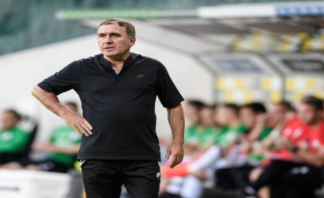 Curious action: Romanian football legend Hagi fires himself as coach