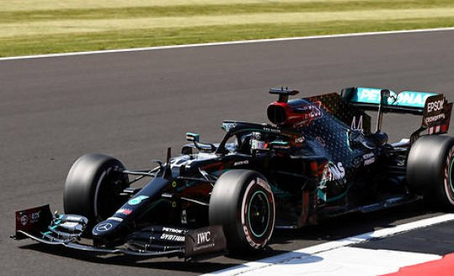F1 - Great Britain : Hamilton, victory on three wheels   Automotive