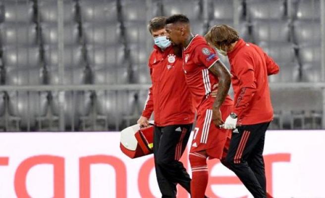 FC Bayern: Jérôme Boateng travels attached to Lisbon