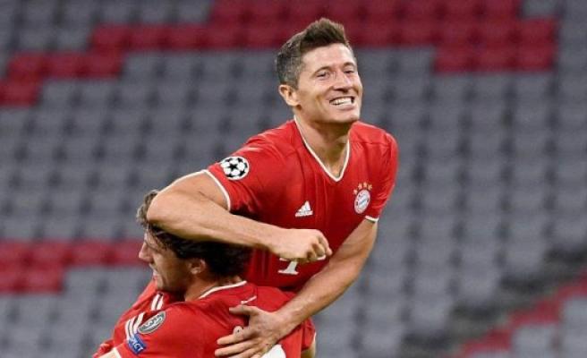 FC Bayern: Now Lewandowski converts even in Ronaldo's footsteps