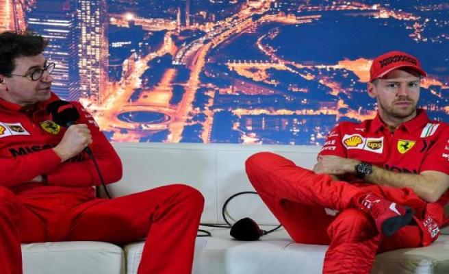 Ferrari team boss Binotto denied Sabotage rumour, and breaks a lance for Vettel