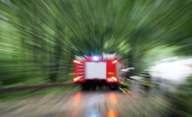 Simmern: fire brigade forest fire in the Hunsrück under control