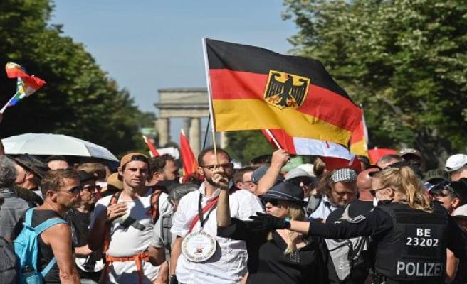 Thousands demonstrate in Berlin against Corona-measures
