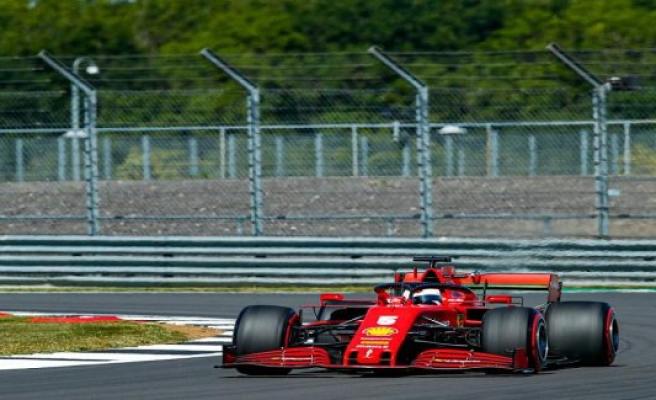 Vettel more mediocrity, Hulkenberg Fourth - best time for Hamilton