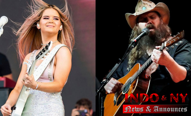 Maren Morris, Chris Stapleton Direct ACM Awards nominations