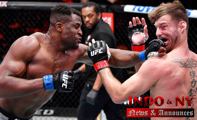Francis Ngannou wins UFC heavyweight title,'Prepared any Moment' to Get Jon Jones