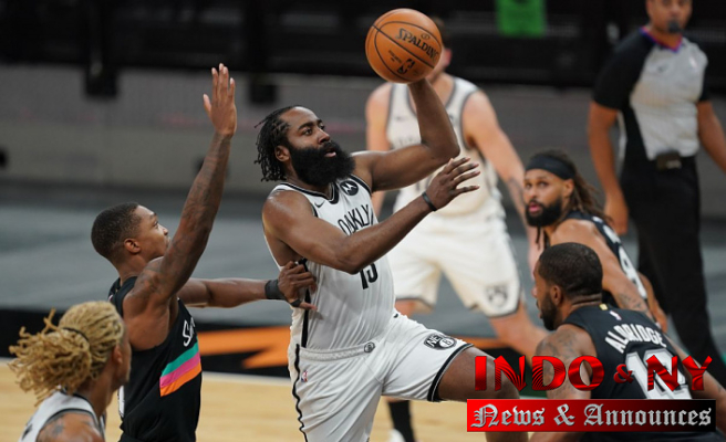Kyrie Irving reacts to James Harden's 7th triple-double since joining Brooklyn Nets: 'Get used to it'