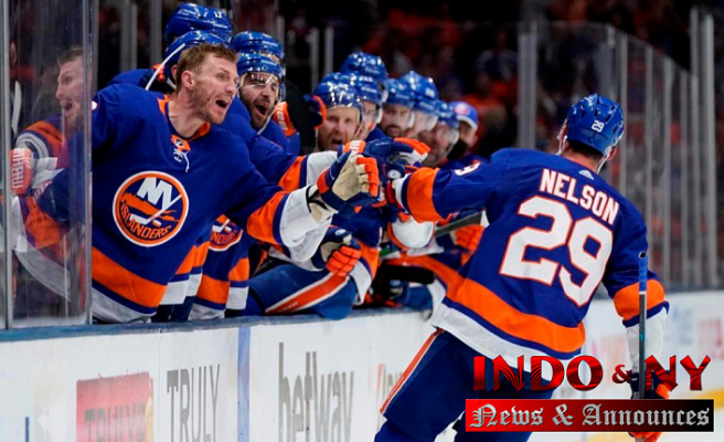Nelson Assists Islanders beat Penguins 5-3 to reach 2nd round