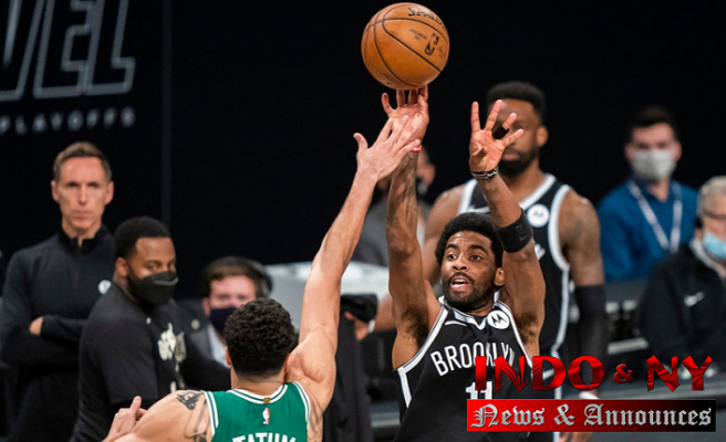 Nets Recuperate from Celebrities' slow start, beat Celtics 104-93