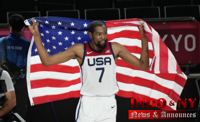 Again, it's golden: The USA beats France 87-82 to win the Tokyo title