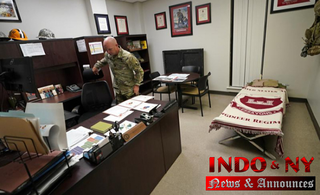 National Guard is away from home because of the rapid pace of crisis resolutions
