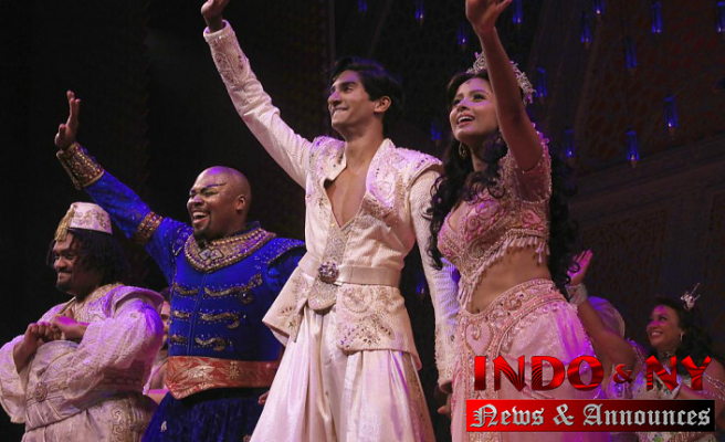 Actors of Indian descent proud to lead Broadway's 'Aladdin'