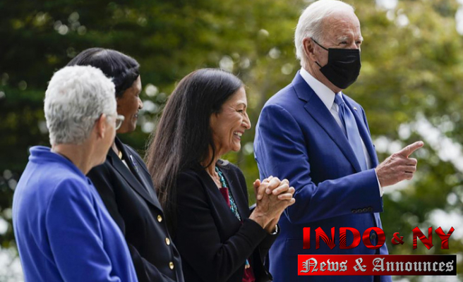 Biden is first president to mark Indigenous Peoples' Day
