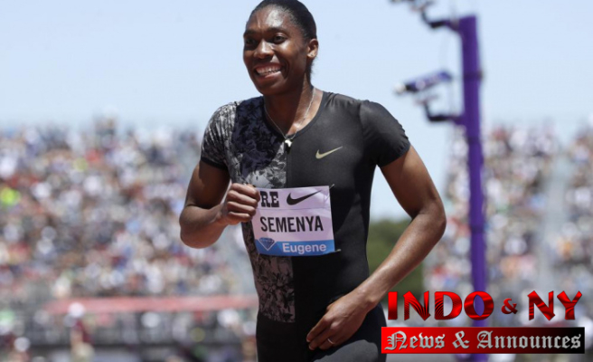 """Caster Semenya is currently working on a memoir, """"Silence All the Noise""""."""