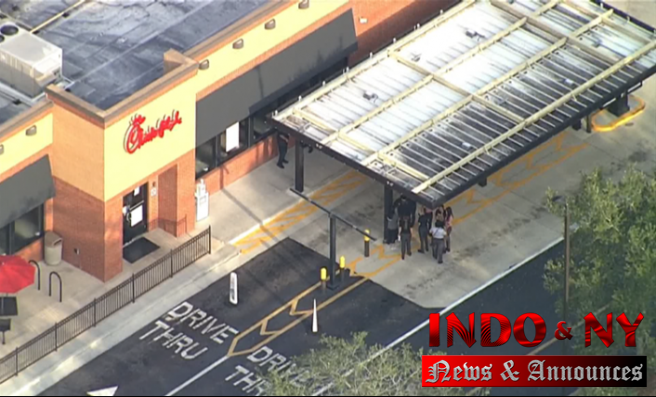 Chick-fil A police report: 1 shot in the leg following an argument