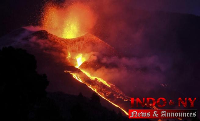Erupting Spanish volcano turns 'more aggressive': officials