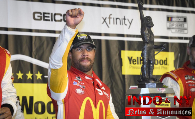 Milestone for Bubba Wallace: He earns his 1st NASCAR win