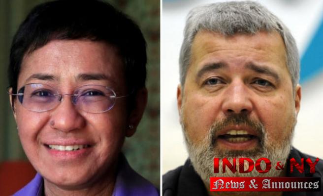 Nobel Peace Prize for Journalists Maria Ressa & Dmitry Muratov