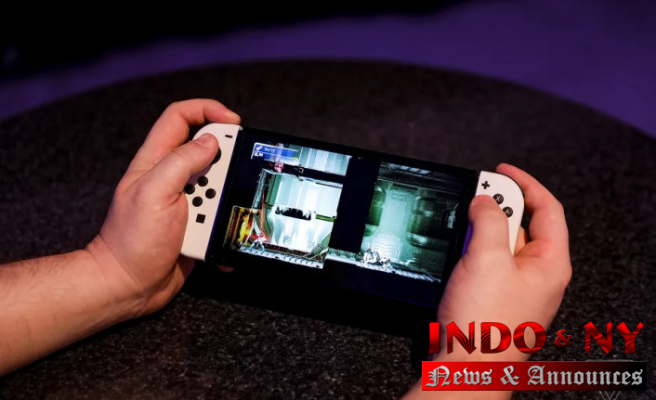Pentile screens are not available on the OLED Nintendo Switch.