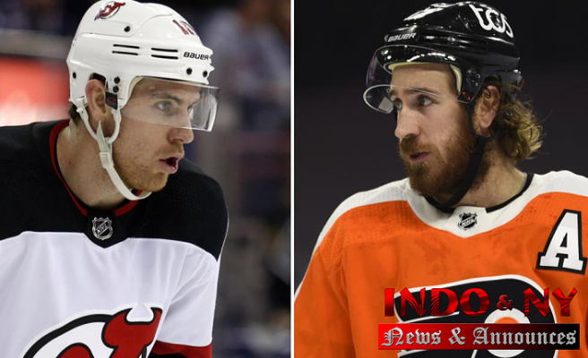 Playing for Jimmy: Grieving Hayes suits up for Flyers season