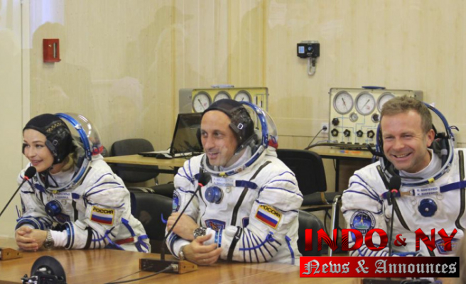 Russian film crew to orbit for first movie shot in space