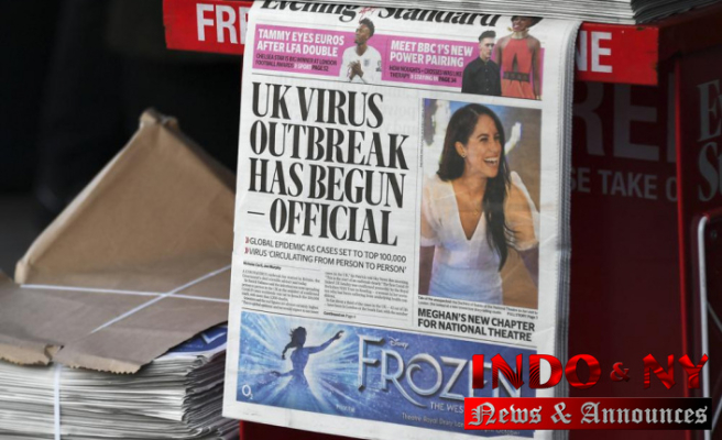 UK waits too long to lock down virus, according to a report