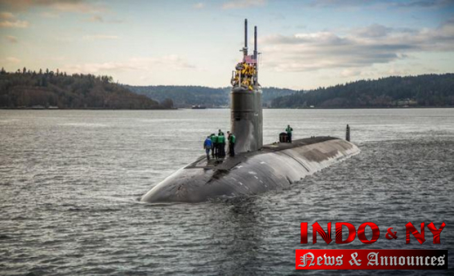 """U.S. nuclear submarine USS Connecticut damaged in underwater collision with unknown """"object"""" in South China Sea"""