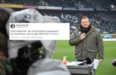 Zoff on Twitter: commentator of the foot is dealt with harshly, then RTL-legend mix
