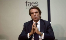 Aznar accuses Sanchez of wanting to convert Spain into a failed State