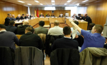 The Constitutional requires the Supreme to repeat the judgment of the assailants of the delegation of Catalonia in Madrid