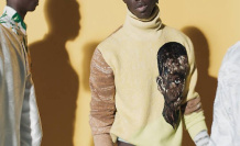 For his men's collection, Dior combines the artist in ghana Amoako Boafo - Point