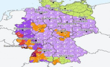 Germany-weather: Where is the severe weather alert is a warning before the Storm