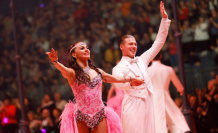 A couple since their youth: how Let's dance professionals Renata and Valentin Lusin fell in love