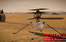 NASA's experimental Mars helicopter has airport