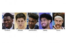 Preseason All-Americans of the AP include Timme, Juzang and Cockburn