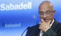 Mr. Josep Oliu (banc de Sabadell) does not rule out mergers under the pressure of investors