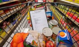 Therefore, shopping can be a cart at the supermarket a disadvantage - a Detail surprised | money