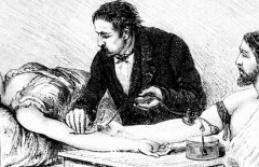 Thomas Brittingham, the doctor who transfusait the blood of leukemic - The Point